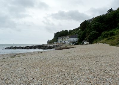 Bonchurch Beach can be walked to from Petit Tor, or Ventnor or Devil's Gap