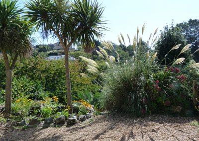 Petit Tor gardens, September