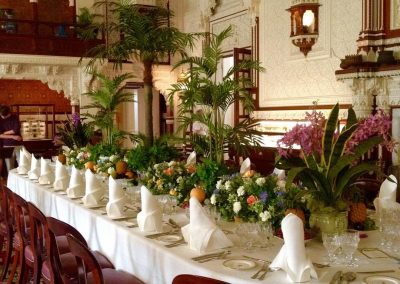 Durbar dining room at Queen Victoria's famous Osborne House