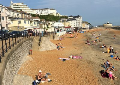 Ventnor Beach, September