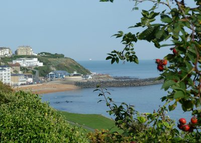 Coastal walk to Ventnor from Petit Tor, Steephill Road