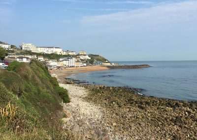 Walking to Ventnor from Petit Tor