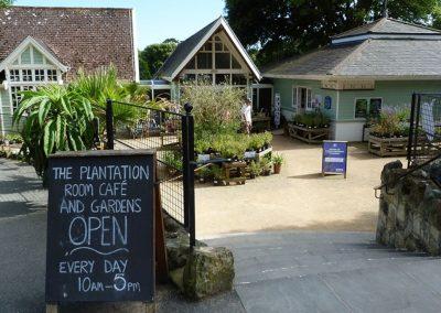 Ventnor Botanic Gardens, 150m from Petit Tor
