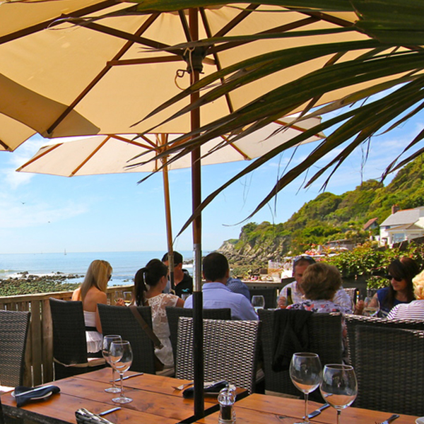 Ventnor Restaurants, The Boathouse Restaurant, near Petit Tor Self-catering