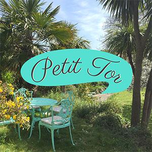 Petit Tor logo, JGM Design, Ventnor, Isle of Wight