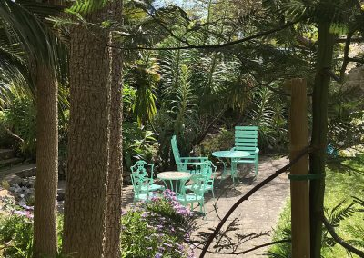 Petit Tor gardens, self catering Isle of Wight