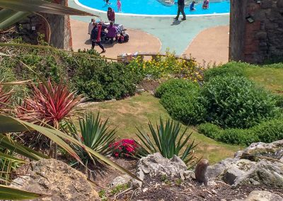Ventnor paddling pool, self catering Isle of Wight